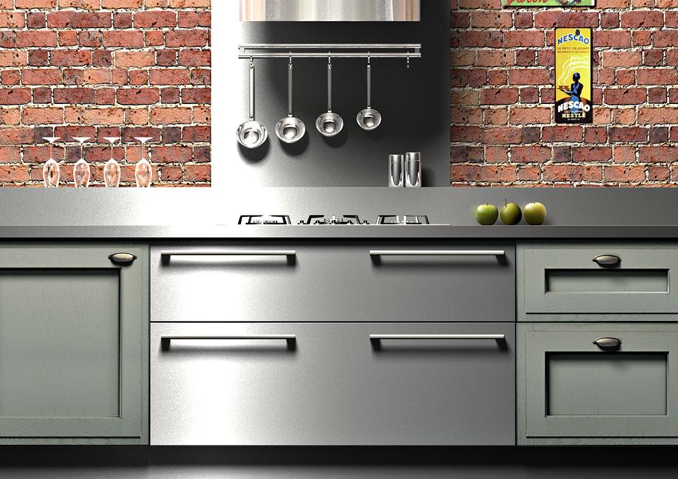 Cuisine bois moderne arbois sagne cuisines for Cuisine moderne en bois 2014