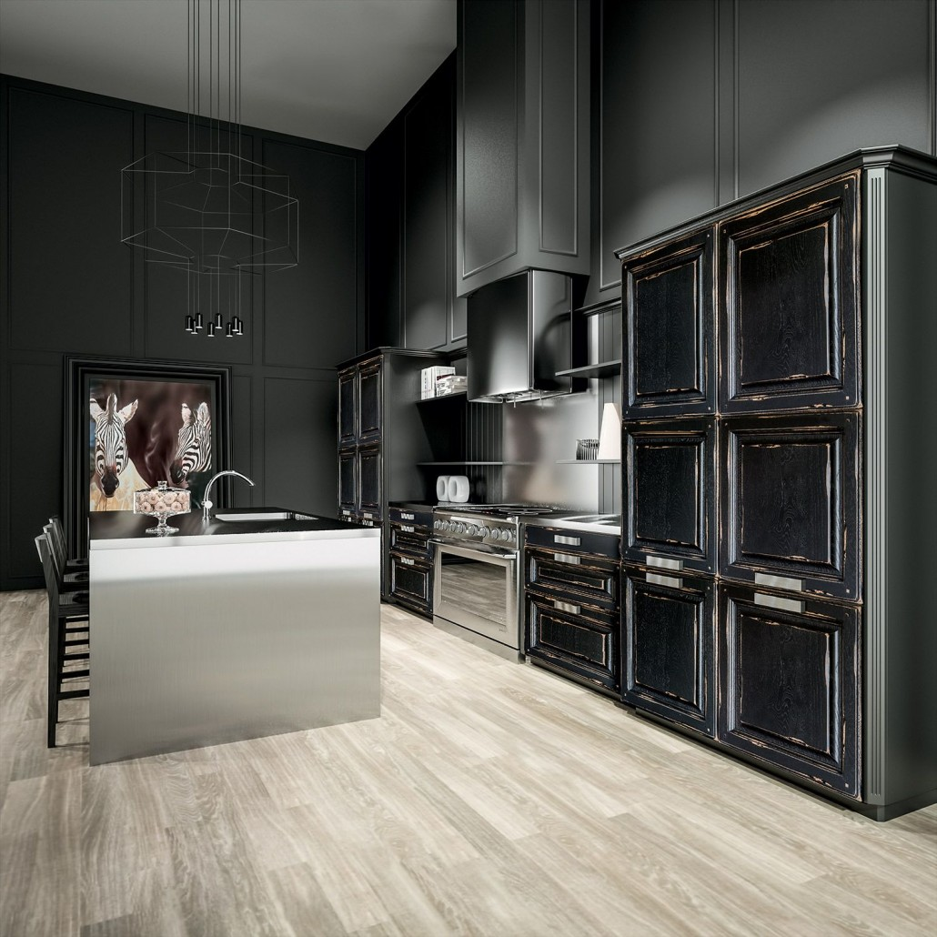 cuisine rustique le blog sagne cuisines. Black Bedroom Furniture Sets. Home Design Ideas
