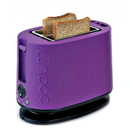Grille pain : osez le design et la couleur