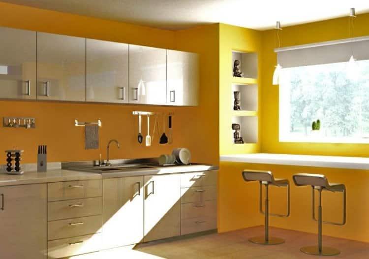 Quelle peinture pour ma cuisine le blog sagne cuisines - Peintures pour cuisine ...