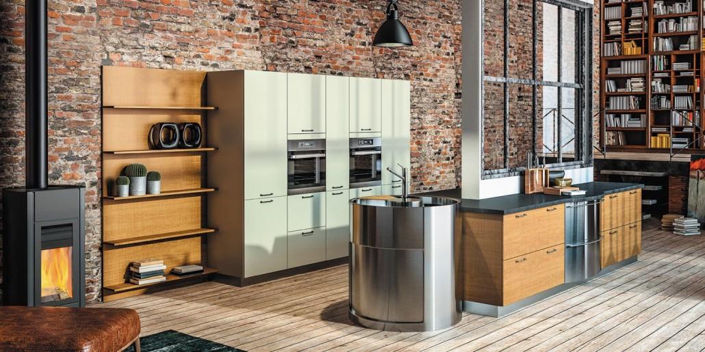 parquet en bois dans la cuisine le blog sagne cuisines. Black Bedroom Furniture Sets. Home Design Ideas