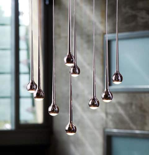 luminaires en suspension le blog sagne cuisines. Black Bedroom Furniture Sets. Home Design Ideas
