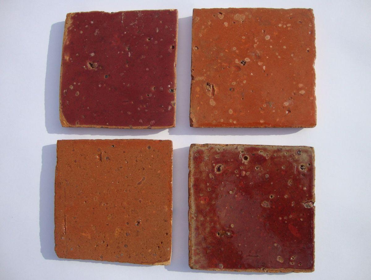 Chambre De Jeune Fille Ikea : tomette terre cuite emaillee rouge orange  Le Blog SAGNE Cuisines