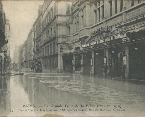 Inondation des Magasin du Petit Saint-Thomas