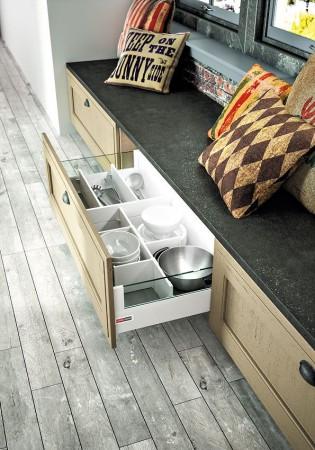 casserolier Arbois avec réhausses verre