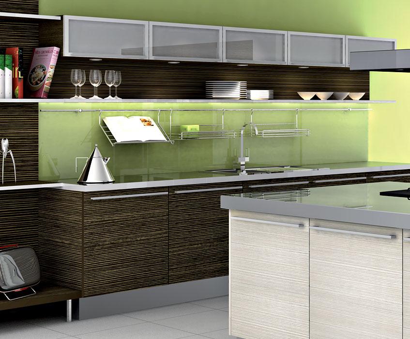Cuisine Haricot Rouge Sec : Cuisine bois moderne modèle Askoïa par SAGNE Cuisines