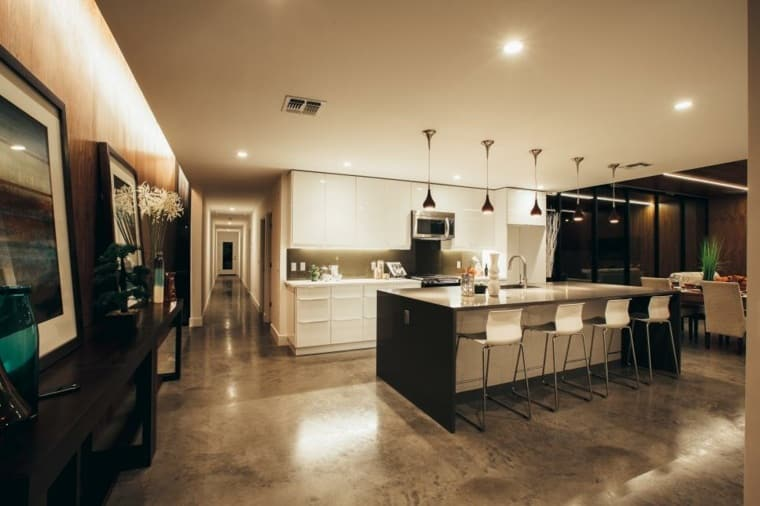 choisir le sol de sa cuisine le blog sagne cuisines. Black Bedroom Furniture Sets. Home Design Ideas