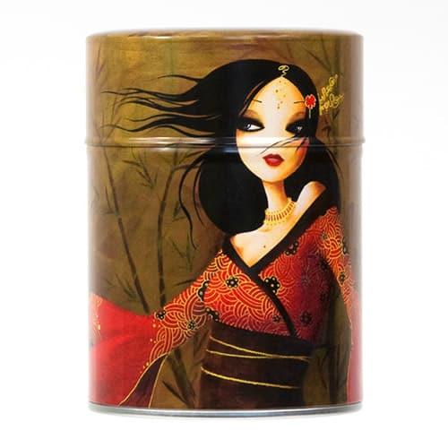 Boîte à thé - Jeune fille rouge