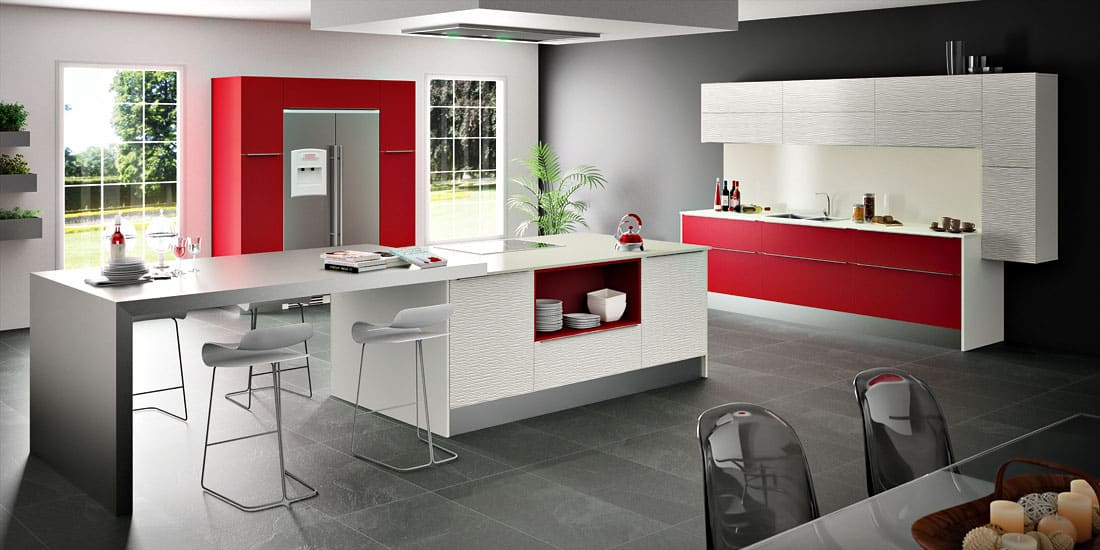 Cuisine contemporaine duba modum par sagne cuisines - Decoration cuisine contemporaine ...