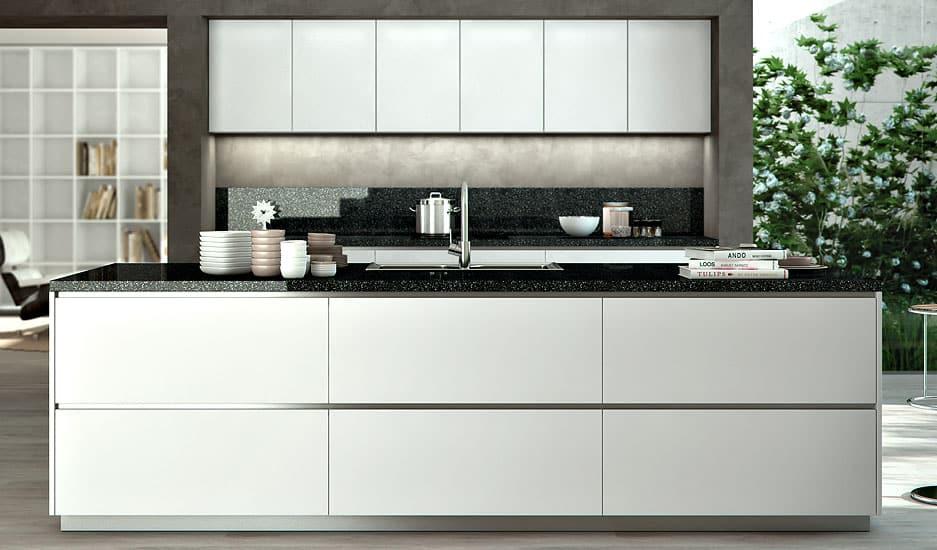 cuisine contemporaine liao par sagne cuisines. Black Bedroom Furniture Sets. Home Design Ideas