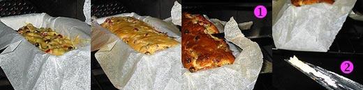 Cuisson du cake aux fruits confits