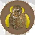 Dessous de plat - Motif singe - Décovu