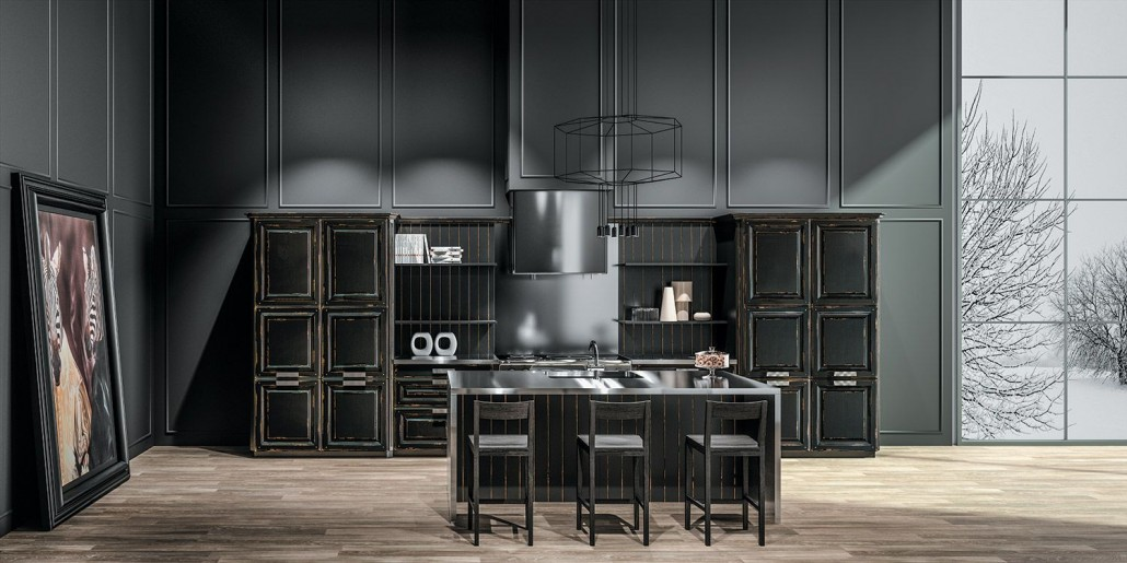 cuisine bois classique archives le blog sagne cuisines. Black Bedroom Furniture Sets. Home Design Ideas