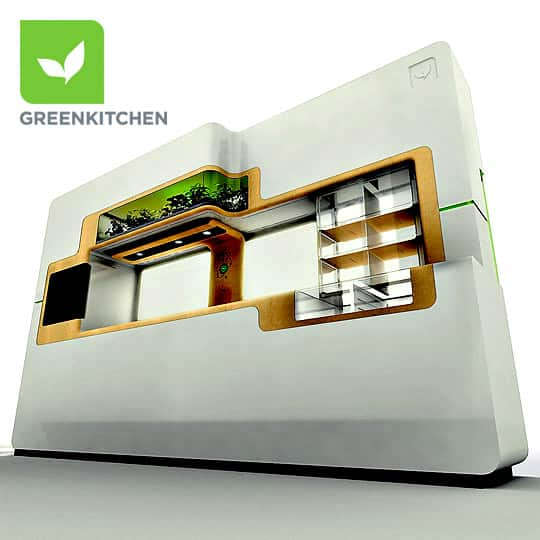 whirlpool marketing and green kitchen Whirlpool has shown of its futuristic green kitchen concept in which 60% of the  water and heat generated from appliances is diverted to fuel.