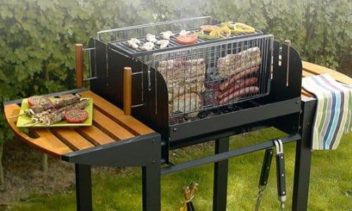 le barbecue vertical le blog sagne cuisines. Black Bedroom Furniture Sets. Home Design Ideas