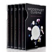 Coffret Modernist cuisine en 6 volumes