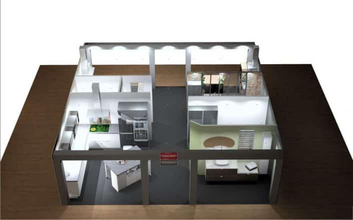 Montage d 39 un stand d 39 exposition de cuisines le blog - Modele exposition cuisine ...
