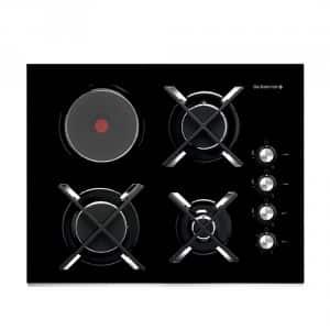 plaque de cuisson mixte le blog sagne cuisines. Black Bedroom Furniture Sets. Home Design Ideas