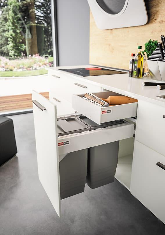 Poubelle sous evier leroy merlin maison design - Poubelle de cuisine sous evier ...