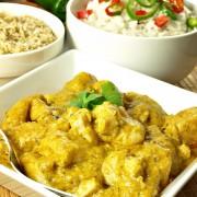 Recette de plat principal : le poulet au curry
