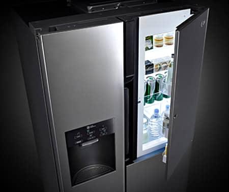 stunning refrigerateur americain design images. Black Bedroom Furniture Sets. Home Design Ideas