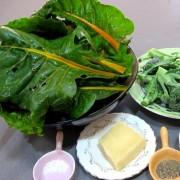 Blettes et brocolis