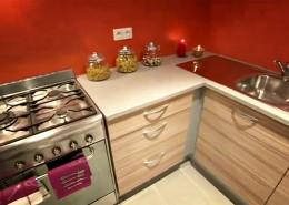 La cuisine au final - Le mobilier et l'électricité sont offert par Fabrice Machuret